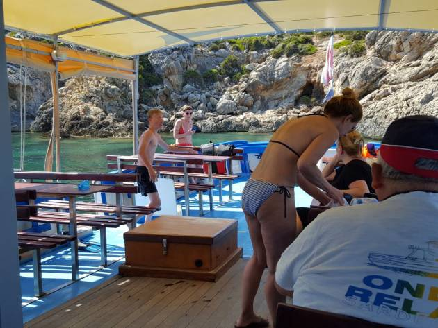 Gite in barca con l'Andrea Padre
